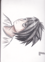 death note L by MaryTanDraws