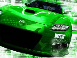 Green car by shiN-is-here