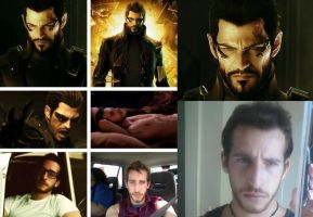 I AM ADAM JENSEN by kjcharmedfreak
