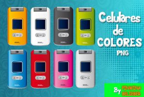 Celulares PNG by Pinwinabelieber
