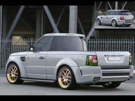 Range Rover :Truck Version I: by JohnnyMacStudio