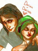 Dorian and Delilah by Ospreyghost13