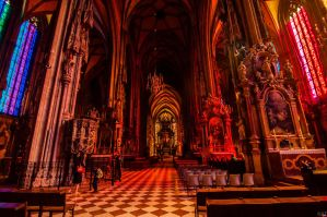St. Stephen's Cathedral in Vienna by azabek