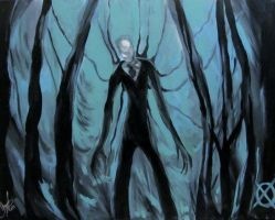 Slenderman by AmandaPainter87