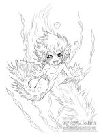 Little Ute - Betta Merperson by KMCgeijyutsuka