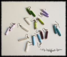Earrings galore by Cayca