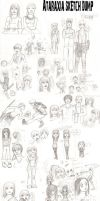 English Fall sketch dump by l-Ataraxia-l
