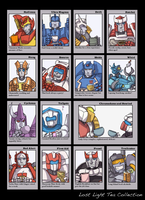 Lost Light Tea Collection - Complete by Sharky-chan