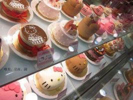 Hello Kitty Cakes EVERYWHERE~! by IoaleKelina