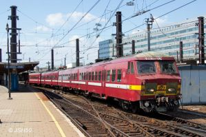 SNCB 827 at Brussels Zuid by JSH50