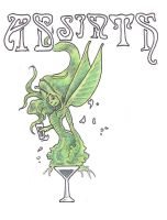 Absinthe - the green fairy by alexine-pankhurst