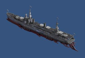 Battlecruiser Freedom - Ver 1 by Lionel23