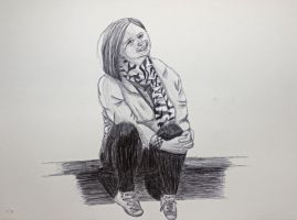 Sitting Portrait by Karen73