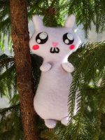 Squirrel Plushie in a Tree by iloveramen88