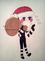 FNAF - Mr. Marionette - Give gift...er.. by InvaderBlitzwing