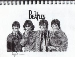 The Beatles by Jarryn