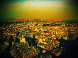 Paris at Sunset by since91