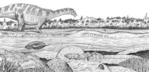 Early Cretaceous of Chile by PaleoAeolos