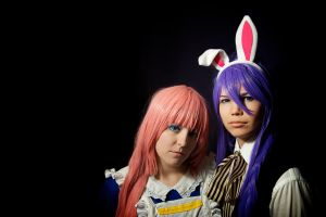 Alice and Rabbit by Almost-Focused