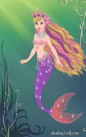 Mermaid Princess Barbie. by LadyIlona1984