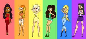 Total Drama Rainbow by Xanviour