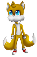 Tails the Fox by The-Great-Bunbutchi