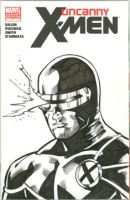 Cyclops sketchcover by Csyeung