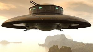 3RD REICH ALTHISLW Saucer project Hanuebu II by PanzerBob