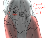 Missing you by criselaine