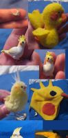 Cockatiel Craftings by sneakyfetusprod