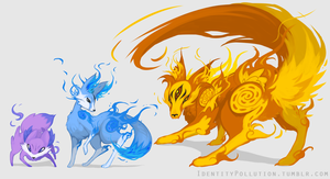 Fennekin Evolution Theory :SHINY: by IdentityPolution