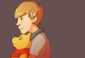 Christopher Robin by Toxandreev