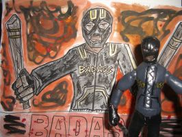 BAD-ASS ACTION FIGURE WITH POSTER 02 by ztenzila