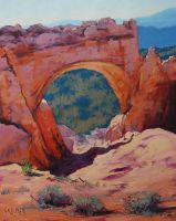 desert Arch by artsaus