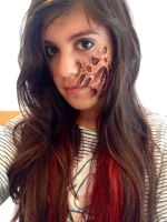 Deadpool/freddy krueger/burnt face by mariana-a
