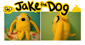 Jake the dog plush by honeysips