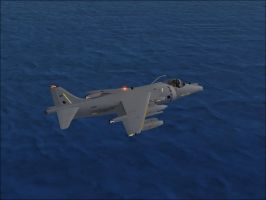 BAe Harrier GR7 Shot 3 by Jamie-the-Luxray-95