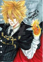 Vongola Primo ( The first flame of Vongola) by littlemissmarikit