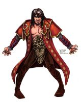 Daily Sketches Gabriel Belmont by fedde