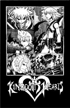 Kingdom Hearts guyz fanart... by VeritasInterlude