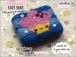 kyaaa.biz Soap - Cupcake by shiricki