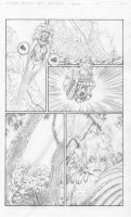 Starfire vs. Textures, pg 2 by misterclayton