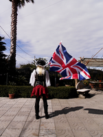 Pirate!Fem!England Cosplay #3 by YamiMana