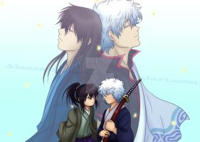 Gintama Doujinshi Full Cover by Alasse-Tasartir