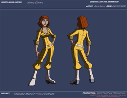 AP April O'Neil by KrisSmithDW