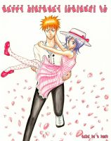 Happy Birthday ichiruki fc by hana-sun