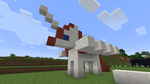 Lauren faust Minecraft Build (Work in progress) by megakidicarus