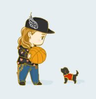 taeyeon and ginger by atutcha