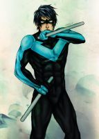 nightwing by Mad-Hatter----X