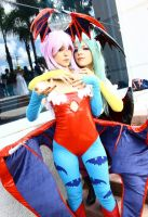 Darkstalkers:Cosplay by Ritsuka-kunn